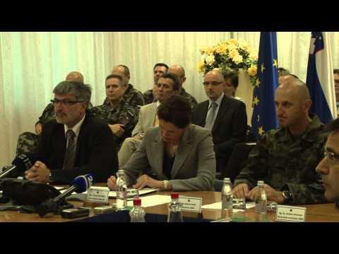 Videokonferenca predsednice Vlade Republike Slovenije s pripadniki SV na misijah