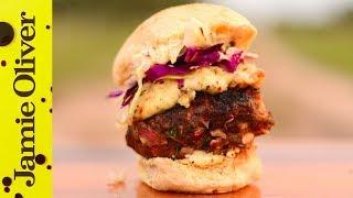 Argentinian Lamb Burgers  Felicitas Pizarro