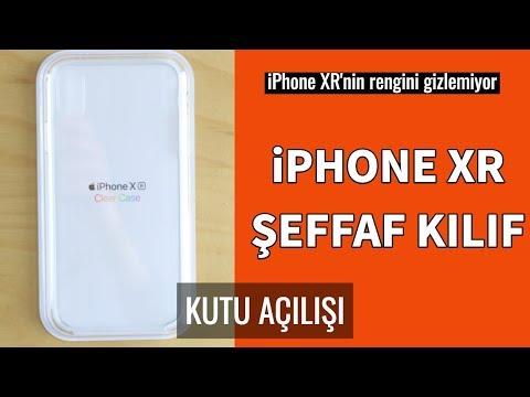 IPhone XR Şeffaf Kılıf Kutusundan Çıkıyor