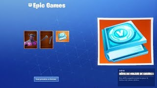 ON BUY THE NEW PACK OF DEFIS OF DECHU COEURS on FORTNITE...