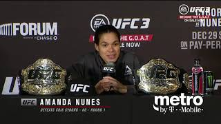 UFC 232: Post-fight Press Conference Highlights