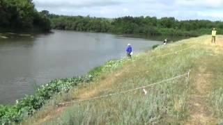 Відкритий чемпіонат м Жовтневий по ловлі на спінінг з берега Частина 2