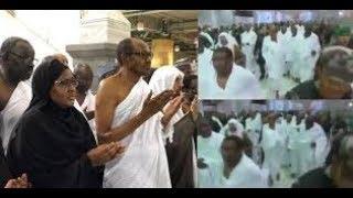 Just In : See Buhari, like Usain Bolt, Running in Saudi Arabia