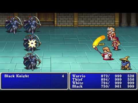 Final Fantasy I Walkthrough - 09 - Chaos Shrine & Ending