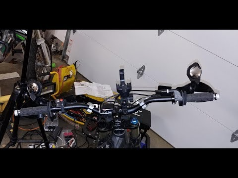 Powermadd Handguard Mirrors Sur Ron Light Bee
