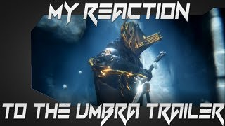 Warframe: My reaction to the Umbra trailer! - The Cymru Gamer