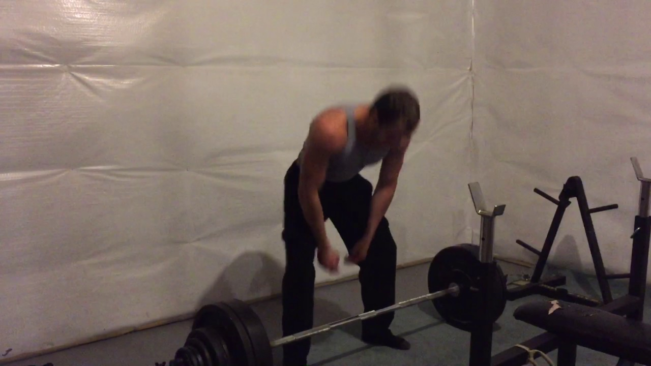 World Record Zercher Deadlift 375 At Body Weight 162 Youtube