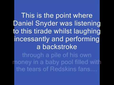 Chad Dukes Rant On the Redskins 59-28 Loss to the Eagles