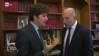 Putignano: Preside aggredito - Porta a porta 13/12/2017
