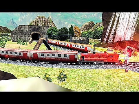 Real Indian Train Sim 2019: Free Simulator - Level 3 and Level 4