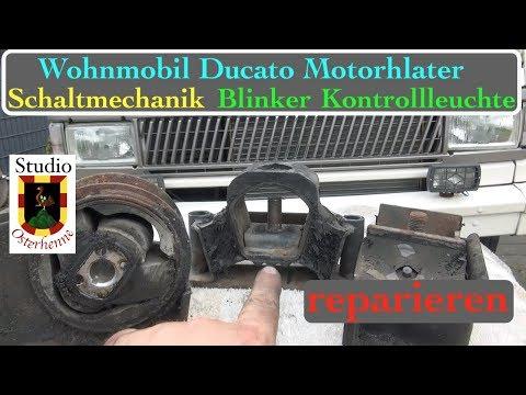 wohnmobil-motorhalterung-schaltung-mechanik-blinker-kontrollleuchte-reparieren