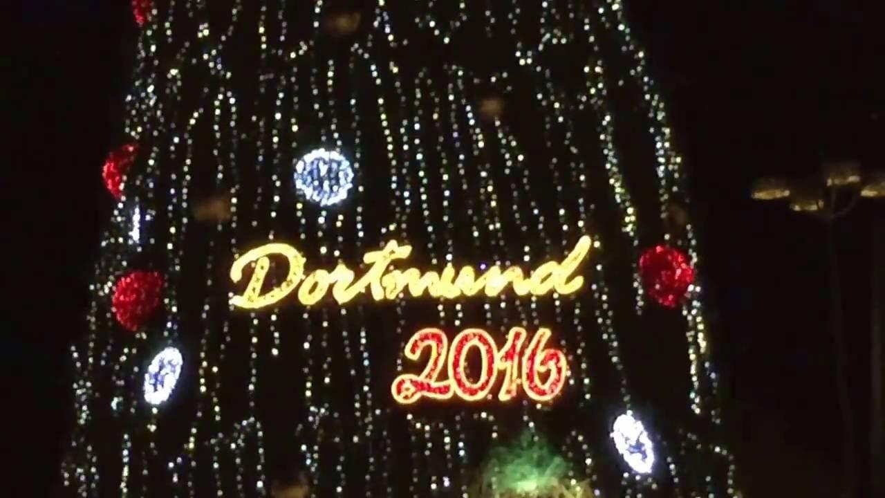 Größter Tannenbaum Deutschlands.Größter Tannenbaum Der Welt Dortmunder Weihnachtsmarkt Eröffnung