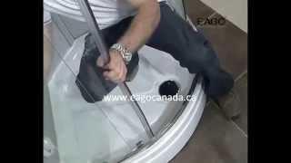 EAGO Duitsland stoomcabine installatie