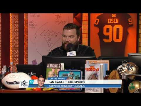 CBS Sports Ian Eagle The First Pronunciation of His Name & More - 3/14/17