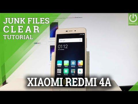 XIAOMI Redmi 4A CLEAN JUNK FILES / REFRESH SOFTWARE