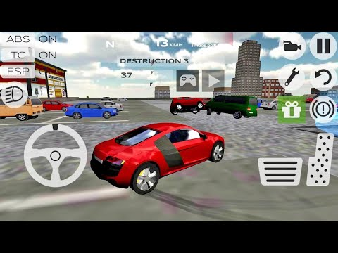 Extreme Car Driving Simulator gameplay #15 - Car Game Android IOS