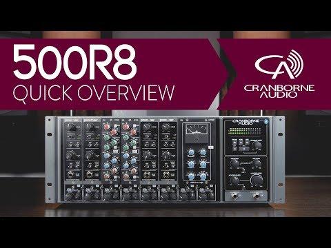 Cranborne Audio 500R8   Quick Overview