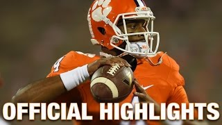 getlinkyoutube.com-Deshaun Watson Official Highlights | Clemson Tigers Quarterback