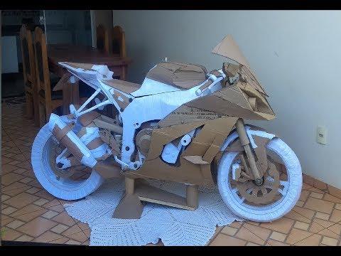 ( Kawasaki Zx10r ) Uma Moto de Papelão de mais de 2 milhões de Dólares...!!!