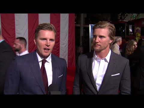 Only The Brave Premiere  Itw Trent Luckinbill Thad Luckinbill  video