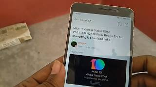 MIUI 10 10.1.1.0 Global stable Rom Rollout All Device