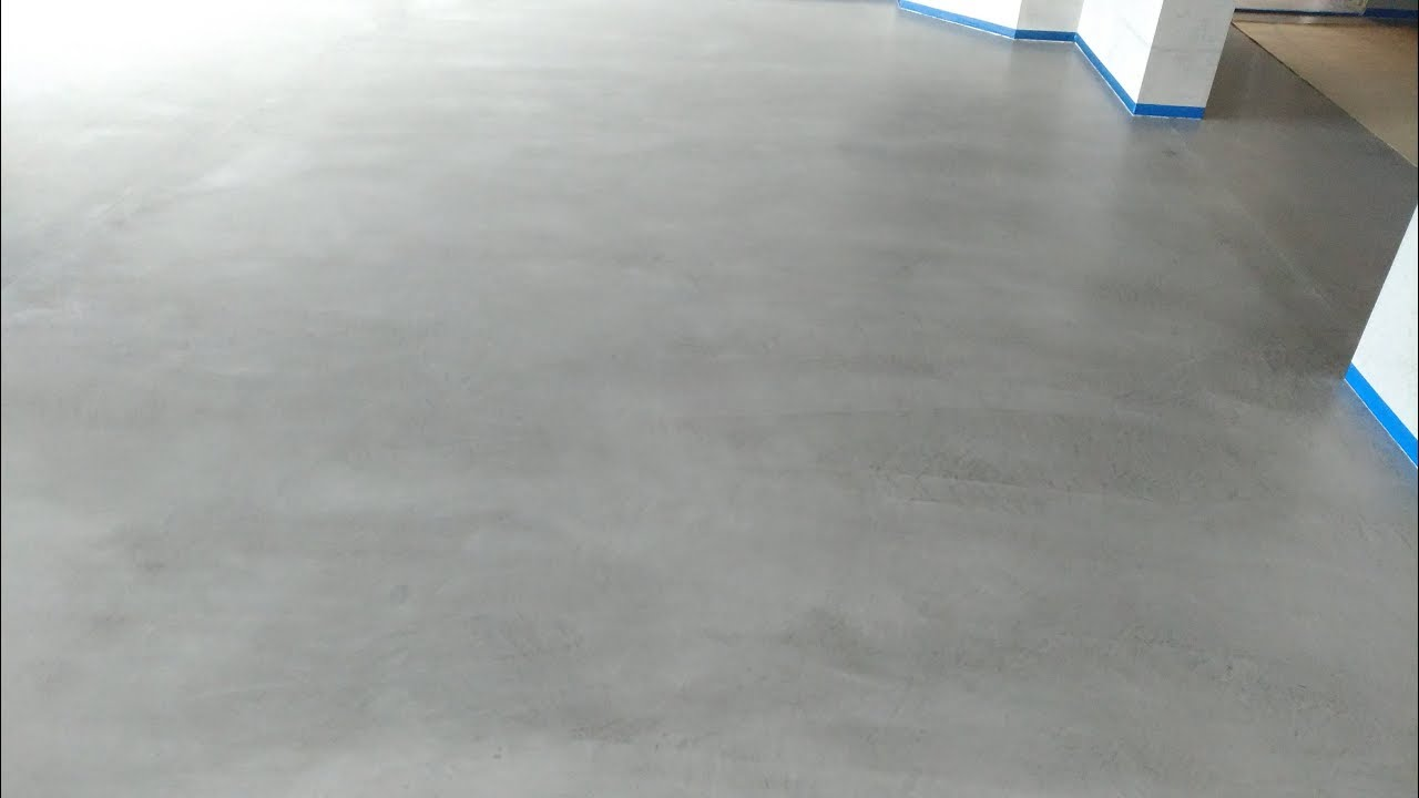 Podłoga Z Mikrocementu Posadzka Z Mikrobetonu Lakierowana Podłogi żywiczne Mp Interio