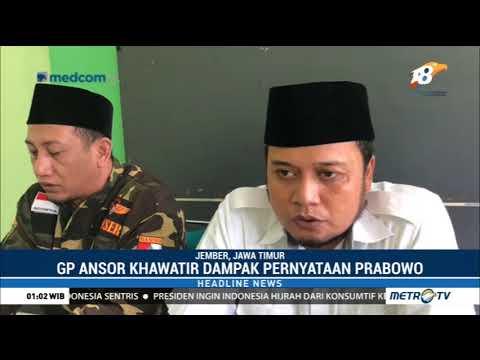 GP Ansor Jember Kecam Prabowo soal Kedutaan Australia