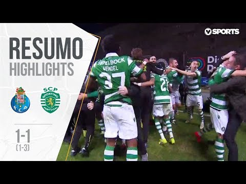 Highlights | Resumo: FC Porto 1-1 Sporting (1-3 g.p.) (Allianz Cup 18/19 Final)