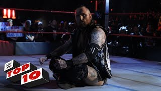 WWE Top 10 takes you back to this week's Monday Night Raw to revisi...