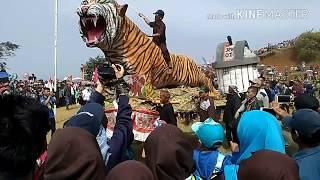 Karnaval Kemerdekaan 17 Agustusan Desa Cimenyan Bandung 2017