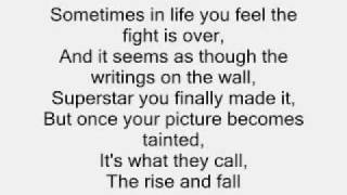 Craig David Rise And Fall Lyrics