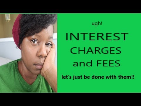 "My Interest Charge ""Rant"" 