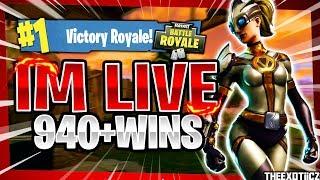 NEW* VENTURA SKIN! TOP PS4 SOLO PLAYER! | 870+ SOLO WINS | Fortnite Battle Royale LIVE