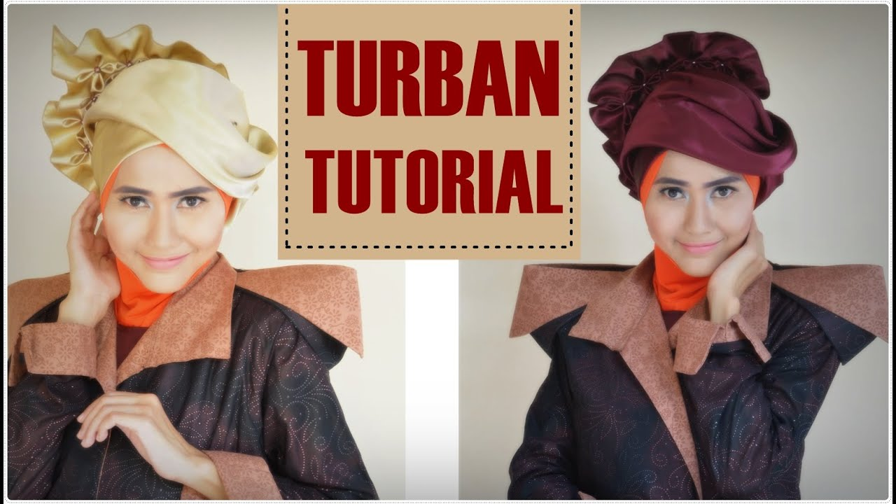 Turban Simple Untuk Pesta By Didowardah 73 YouTube