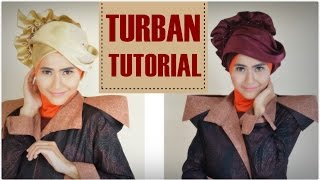Turban Simple Untuk Pesta by Didowardah #73