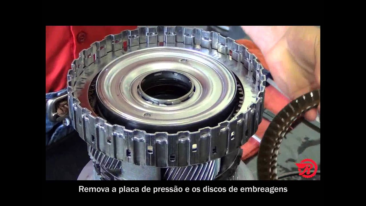 Ray's Garage- ZF8HP70 Unit Disassembly (Portuguese Subtitles)