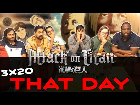 Attack on Titan - 3x20 That Day - Group Reaction