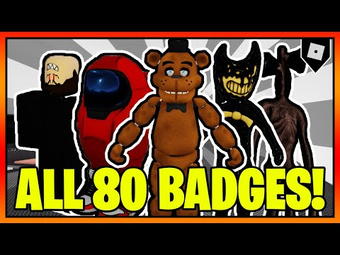 How To Get ALL 80 BADGES In TREVOR CREATURES KILLER 2! || Roblox