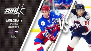 AIHL Live Melbourne Ice @ Newcastle Northstars (20/09/2017)