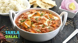 Kadai Paneer / Restaurant style Cottage cheese vegetable recipe by Tarla Dalal
