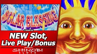 Video Solar Blessing Slot - First Attempt, Fun New Konami Game download MP3, 3GP, MP4, WEBM, AVI, FLV Juli 2018