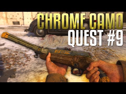 Waffe: Chrome Camo Quest #9 (Call of Duty: WW2 Gameplay Stream)
