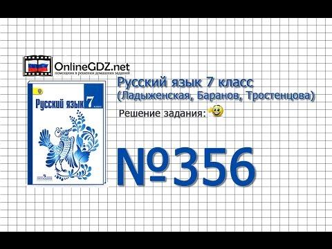 Задание № 396 — Русский язык 7 класс (Ладыженская, Баранов, Тростенцова)