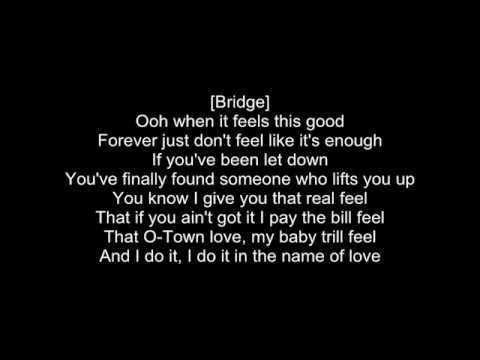 Letoya Luckett - In the name (Lyrics)