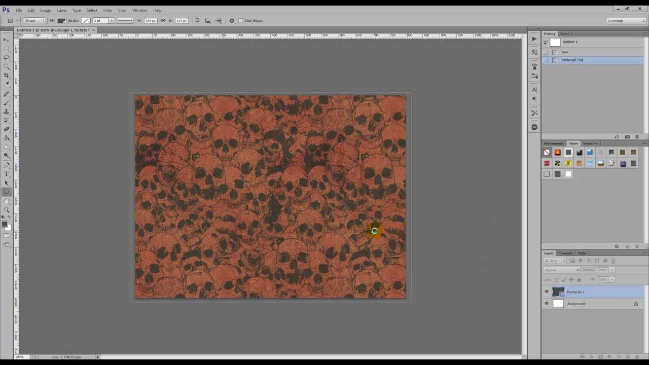 how to add a pattern into photoshop