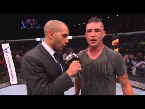 Fight Night Albuquerque: Diego Sanchez Octagon Interview