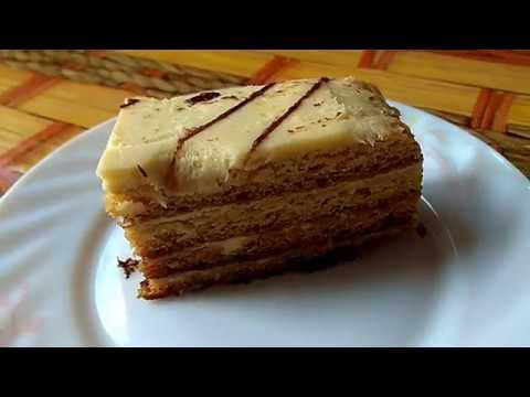 Медовик без раскатки коржей//Торт медовик//Простой рецепт