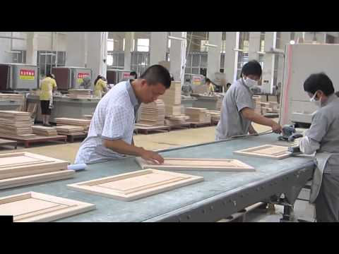 Wood Working Inspection in kitchen cabinet factory in China