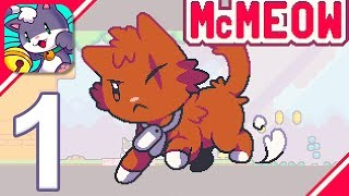 Super Cat Tales 2 - Gameplay Walkthrough Part 1 - World 1 (iOS, Android)