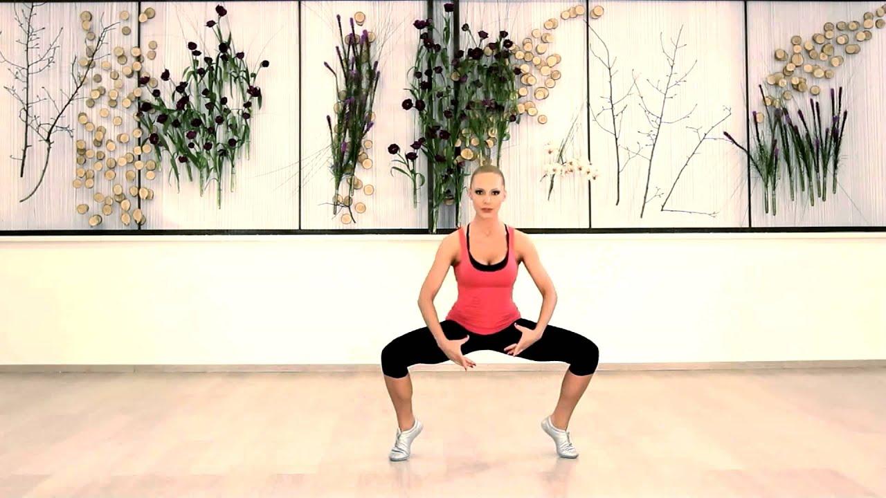 Ballerina Squats - YouTube